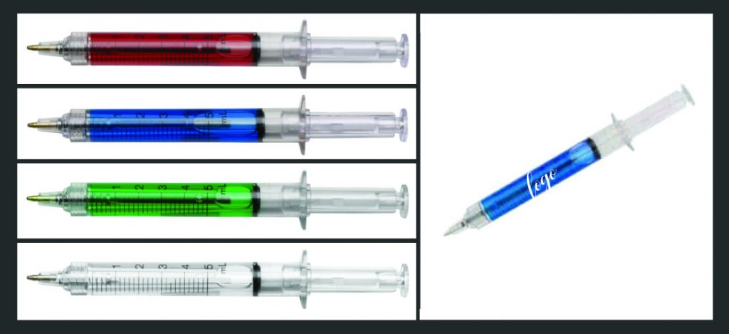 Syringe Ball Pens Get Your Name Injected Into The Industry